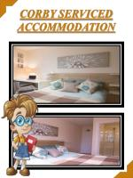 Corby Accommodation