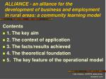 Contents 1 .  The key aim 2. The context of application 3. The facts/results achieved