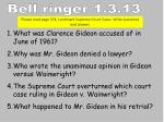 What was Clarence Gideon accused of in June of 1961? Why was Mr. Gideon denied a lawyer?