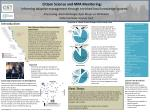 Citizen Science and MPA Monitoring: