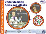 What are acids and alkalis?