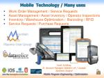 Mobile Technology / Many uses
