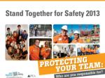 What is Stand Together for Safety?