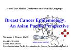 1st and Last Meidai Conference on Scientific Language