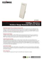 150Mbps Wireless Outdoor Range Extender/Access Point