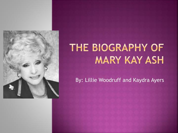 the biography of mary kay ash n.