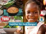 Together for Zero Hunger!