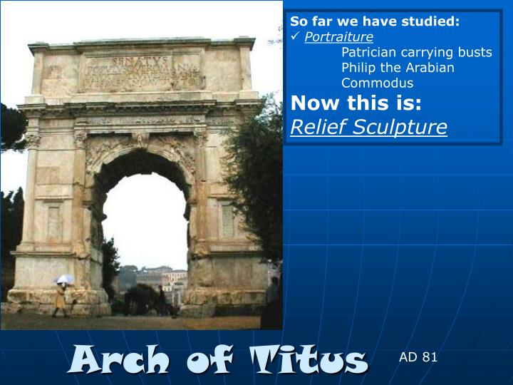 arch of titus n.