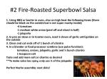 #2 Fire-Roasted Superbowl Salsa