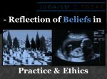 - Reflection of  Beliefs  in