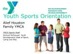 Youth Sports Orientation