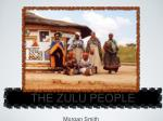 THE ZULU PEOPLE