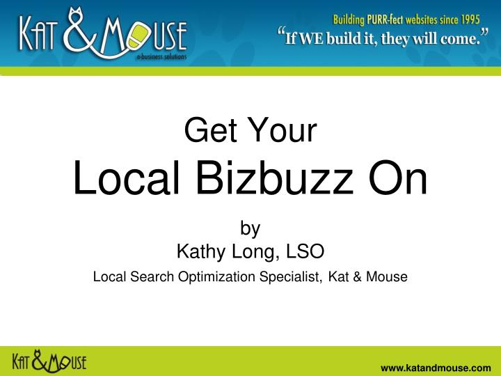 get your local bizbuzz on n.