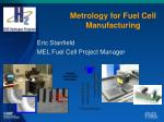 Metrology for Fuel Cell Manufacturing