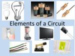Elements of a Circuit