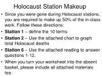 Holocaust Station Makeup