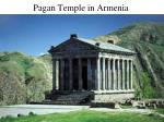 Pagan Temple in Armenia