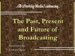 The Past, Present and Future of Broadcasting