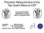 Precision Measurement of the Top Quark Mass at CDF