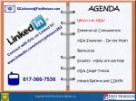 AGENDA What is an HSA? Elements of Consumerism HSA Examples – Do the Math Resources