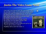 Justin-The Video Game Nerd
