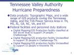 Tennessee Valley Authority Hurricane Preparedness