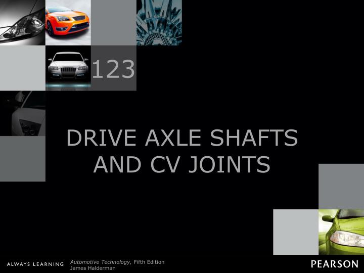 drive axle shafts and cv joints n.