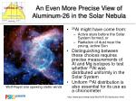 An Even More Precise View of Aluminum-26 in the Solar Nebula