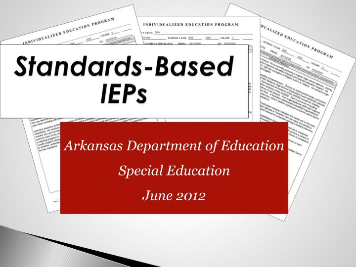 standards based ieps n.