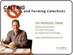 Recruiting and Forming Catechists