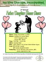 Father/Daughter Dinner Dance