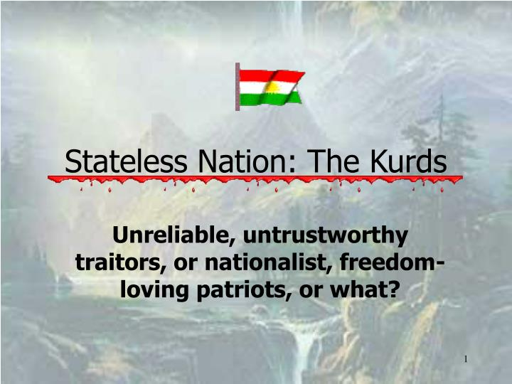 stateless nation the kurds n.