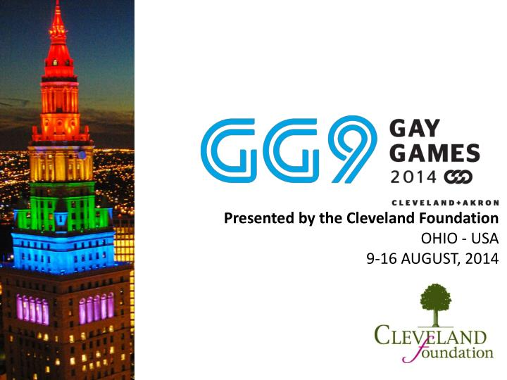 presented by the cleveland foundation ohio usa 9 16 august 2014 n.