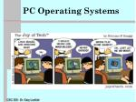 PC Operating Systems