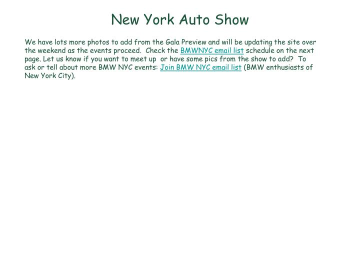 new york auto show n.