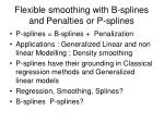 Flexible smoothing with B-splines and Penalties or P-splines