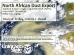 North African Dust Export