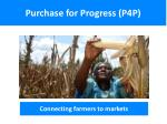 Purchase for Progress (P4P)