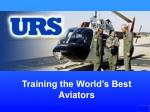Training the World's Best Aviators