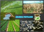 Abusing Fertilizer