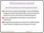 Some Valuable Tips while submitted online pyment rameesh