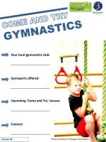 COME AND TRY GYMNASTICS