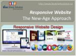 Responsive website – The new-age approach: