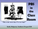 PBS  in the Class Room