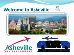 Welcome to Asheville