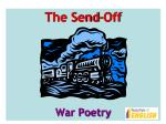 The Send-Off War Poetry