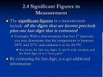 2.4 Significant Figures in Measurement