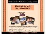 WNY School of Work Based Learning Institute
