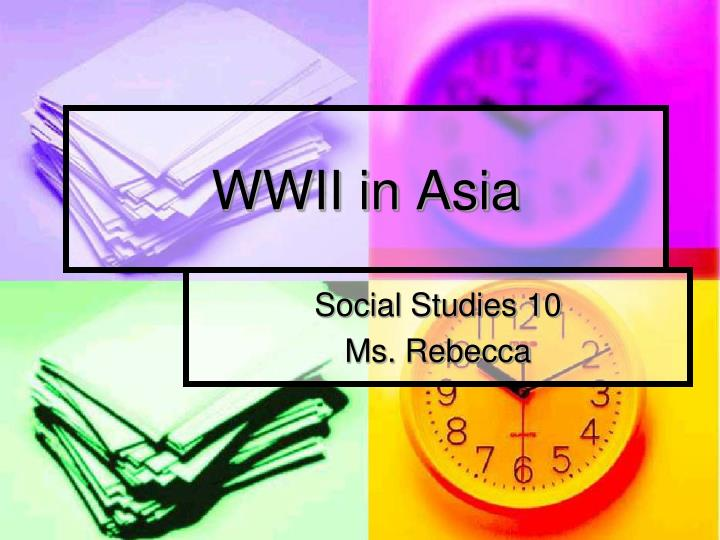wwii in asia n.