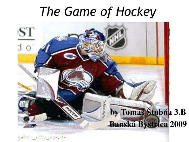 the game of hockey n.